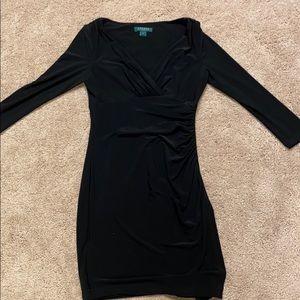LAUREN Ralph Lauren Black Dress Size 2